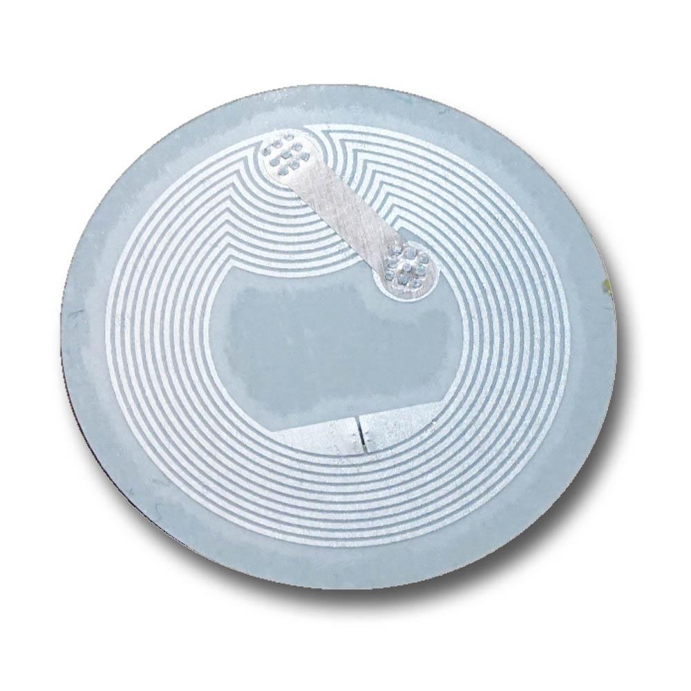 NFC Tag Sticker-Aufkleber 25 mm, 180 Byte, NFC 213 Chip Universal weiß
