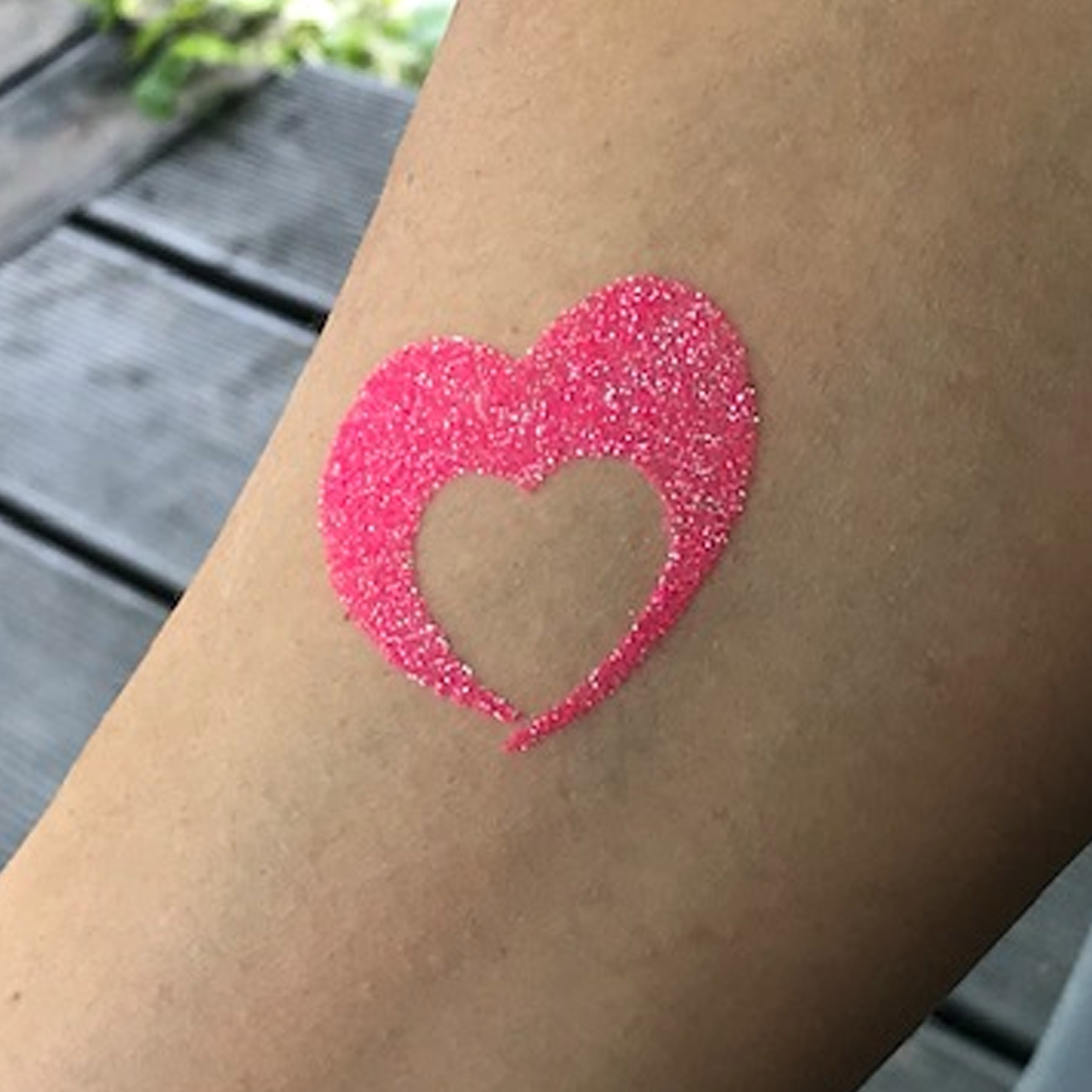 Tattoo Schablonen Set Mädchen BIG Kinder 20 Stück Selbstklebend Kinderschminken Airbrush