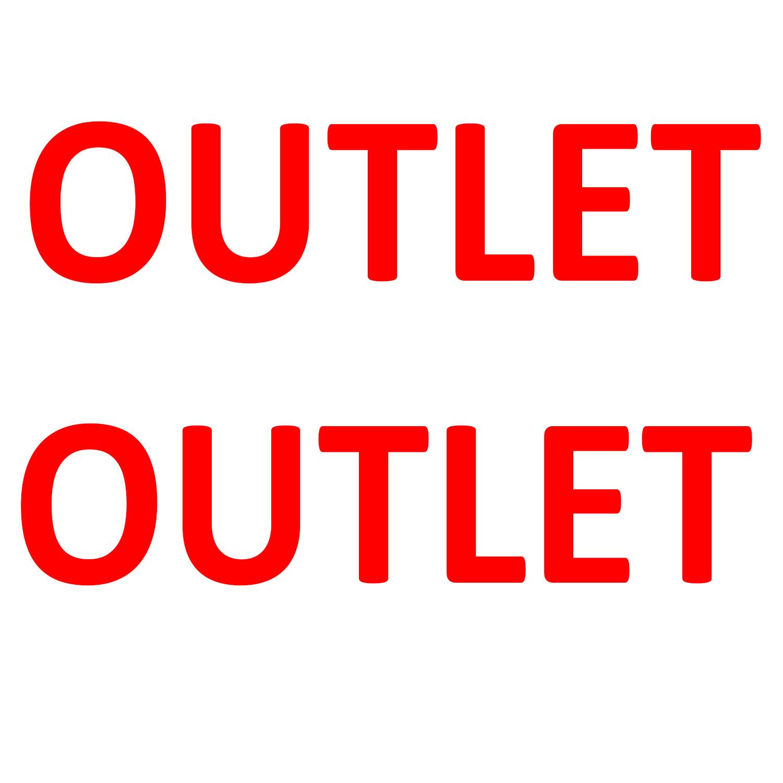 Aufkleber Einzelhandel - Outlet